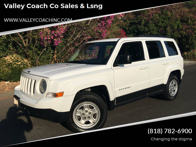 2016 Jeep Patriot for sale at Valley Coach Co Sales & Lsng in Van Nuys CA