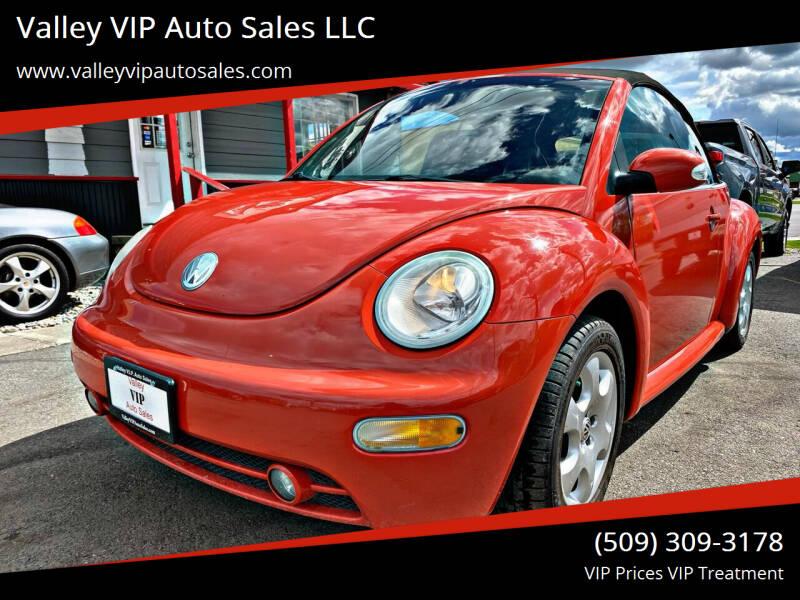 2003 Volkswagen New Beetle Convertible for sale at Valley VIP Auto Sales LLC in Spokane Valley WA