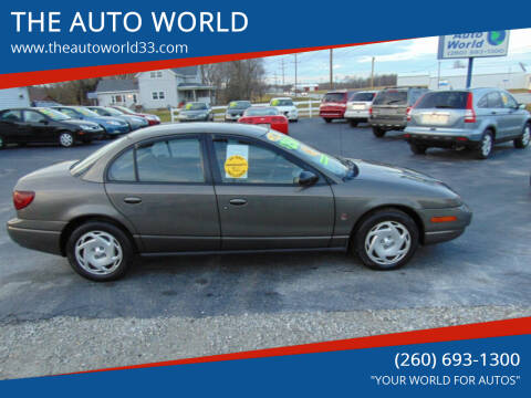 2000 Saturn S-Series for sale at THE AUTO WORLD in Churubusco IN