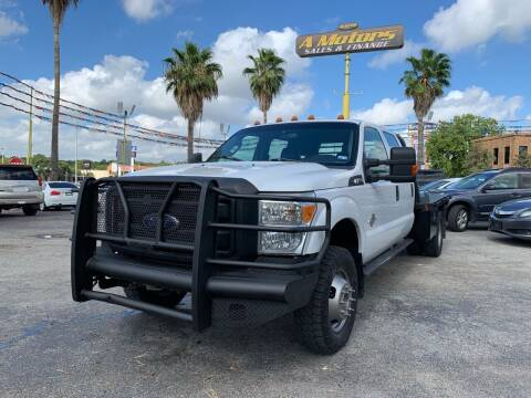 2014 Ford F-350 Super Duty for sale at A MOTORS SALES AND FINANCE in San Antonio TX