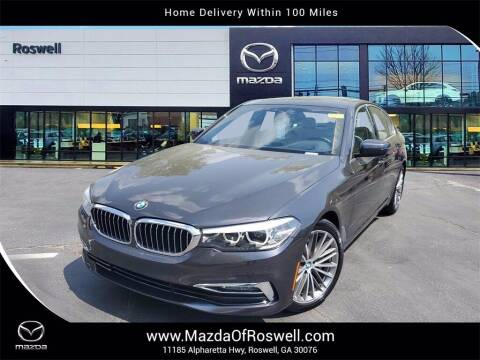2017 BMW 5 Series for sale at Mazda Of Roswell in Roswell GA