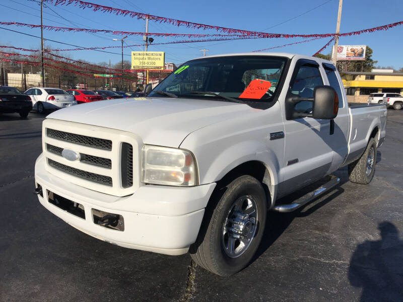 2007 Ford F-250 Super Duty for sale at IMPALA MOTORS in Memphis TN