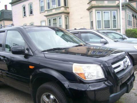 2007 Honda Pilot for sale at Dambra Auto Sales in Providence RI
