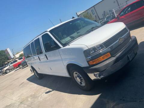 2016 Chevrolet Express Passenger for sale at TEXAS MOTOR CARS in Houston TX