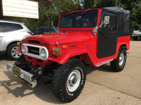 1974 Toyota Land Cruiser for sale at Town and Country Auto Sales in Jefferson City MO