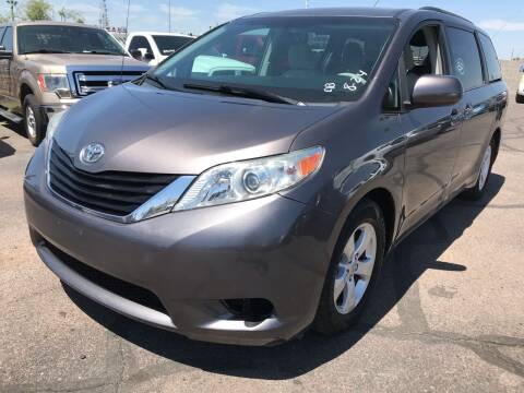 2013 Toyota Sienna for sale at Town and Country Motors in Mesa AZ