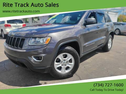 2014 Jeep Grand Cherokee for sale at Rite Track Auto Sales in Wayne MI