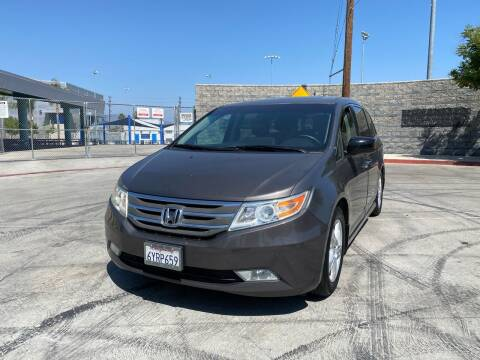 2013 Honda Odyssey for sale at Good Vibes Auto Sales in North Hollywood CA