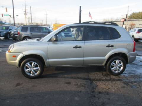 2009 Hyundai Tucson for sale at Home Street Auto Sales in Mishawaka IN