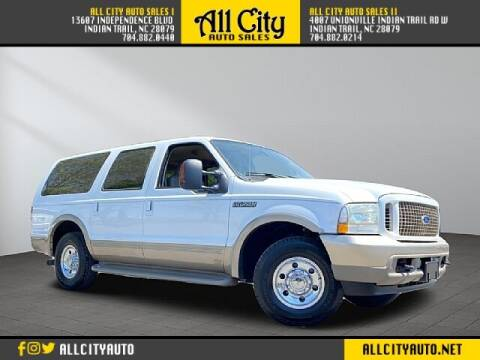 2004 Ford Excursion for sale at All City Auto Sales in Indian Trail NC