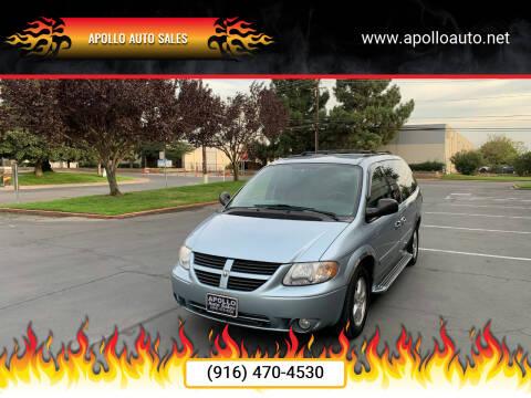 2005 Dodge Grand Caravan for sale at APOLLO AUTO SALES in Sacramento CA