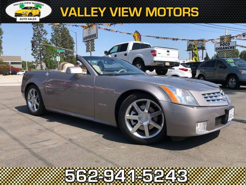 2004 Cadillac XLR for sale at Valley View Motors in Whittier CA