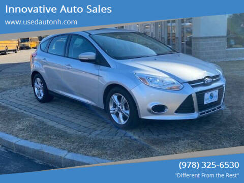 2013 Ford Focus for sale at Innovative Auto Sales in North Hampton NH