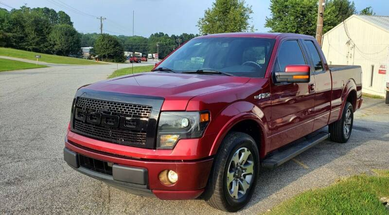2013 Ford F-150 for sale at ALL AUTOS in Greer SC