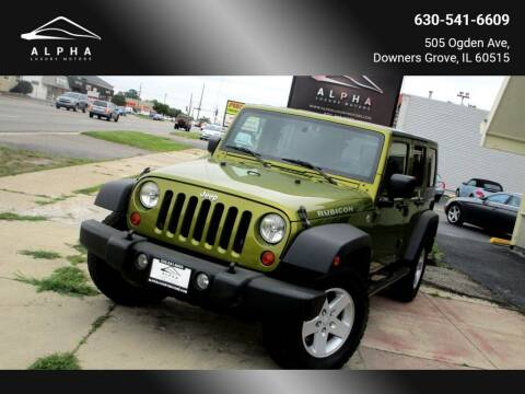 2007 Jeep Wrangler Unlimited for sale at Alpha Luxury Motors in Downers Grove IL