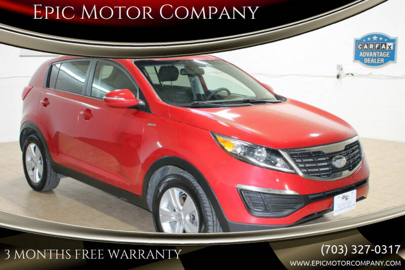 2013 Kia Sportage for sale at Epic Motor Company in Chantilly VA