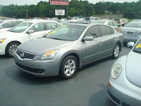 2008 Nissan Altima for sale at Mike Lipscomb Auto Sales in Anniston AL