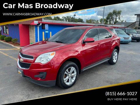 2012 Chevrolet Equinox for sale at Car Mas Broadway in Crest Hill IL