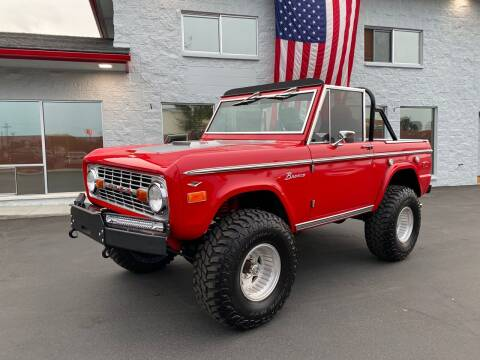 1974 Ford Bronco for sale at Elder Auto Sales in Kennewick WA