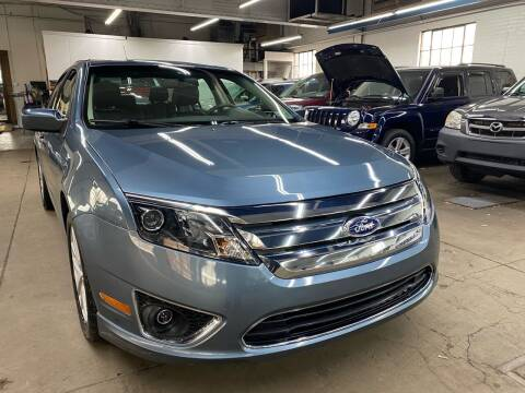 2011 Ford Fusion for sale at John Warne Motors in Canonsburg PA