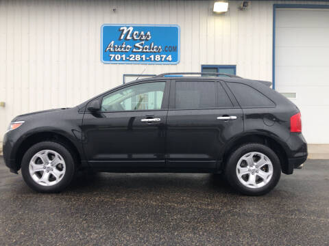 2014 Ford Edge for sale at NESS AUTO SALES in West Fargo ND