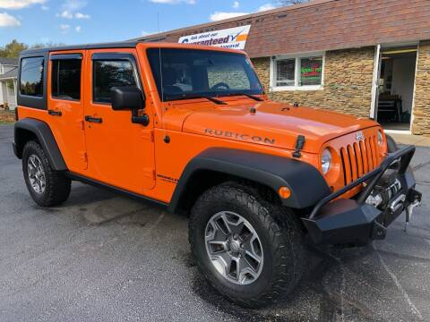 2013 Jeep Wrangler Unlimited for sale at Approved Motors in Dillonvale OH