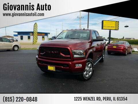 2018 RAM Ram Pickup 2500 for sale at Giovannis Auto in Peru IL