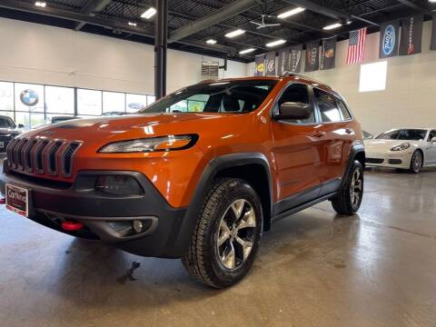 2016 Jeep Cherokee for sale at CarNova in Sterling Heights MI