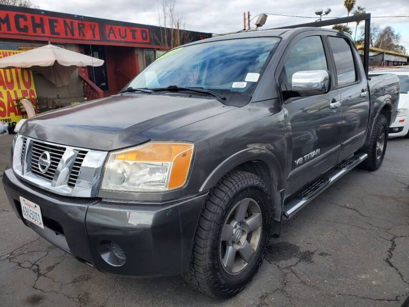 2010 Nissan Titan for sale at MCHENRY AUTO SALES in Modesto CA