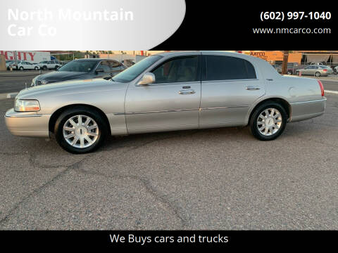 2009 Lincoln Town Car for sale at North Mountain Car Co in Phoenix AZ