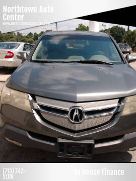 2007 Acura MDX for sale at Northtown Auto Center in Houston TX