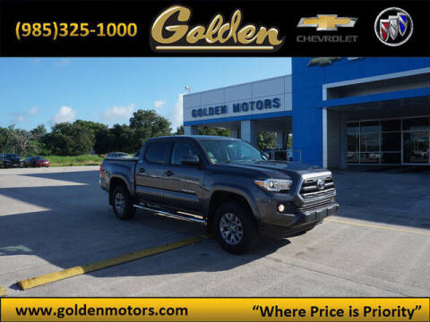 2017 Toyota Tacoma for sale at GOLDEN MOTORS in Cut Off LA