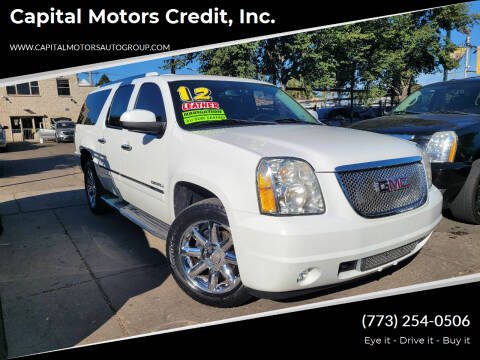2012 GMC Yukon XL for sale at Capital Motors Credit, Inc. in Chicago IL