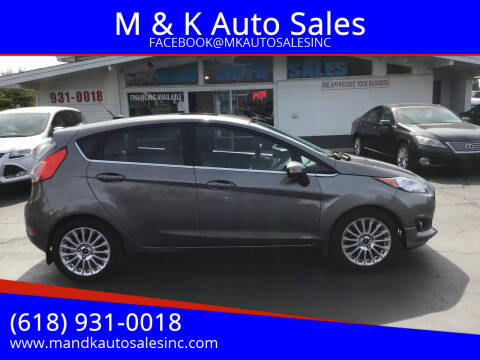 2014 Ford Fiesta for sale at M & K Auto Sales in Granite City IL