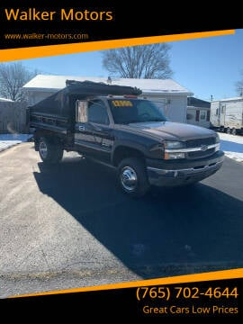2004 Chevrolet Silverado 3500 for sale at Walker Motors in Muncie IN
