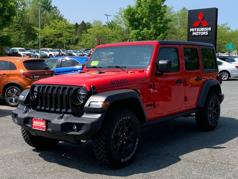 2020 Jeep Wrangler Unlimited for sale at Midstate Auto Group in Auburn MA