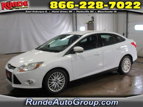 2012 Ford Focus for sale at Runde Chevrolet in East Dubuque IL