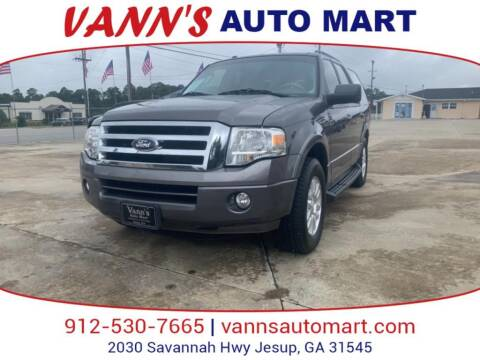 2014 Ford Expedition for sale at VANN'S AUTO MART in Jesup GA