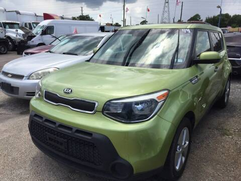 2015 Kia Soul for sale at BSA Used Cars in Pasadena TX