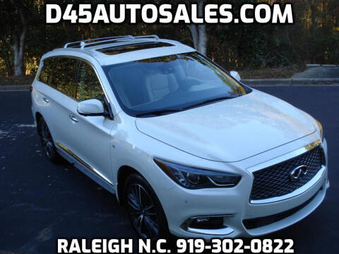 2017 Infiniti QX60 for sale at D45 Auto Brokers in Raleigh NC