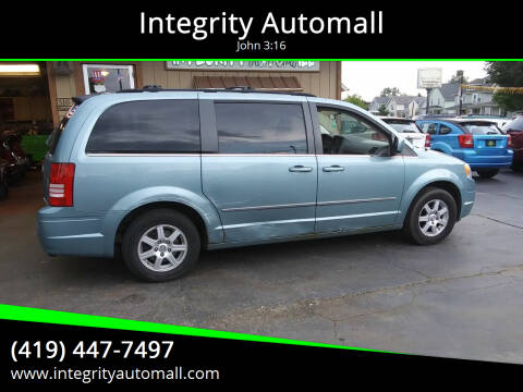 2010 Chrysler Town and Country for sale at Integrity Automall in Tiffin OH