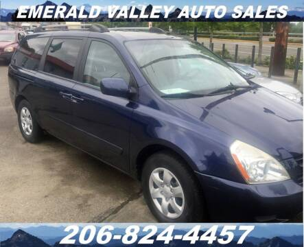 2006 Kia Sedona for sale at Emerald Valley Auto Sales in Des Moines WA