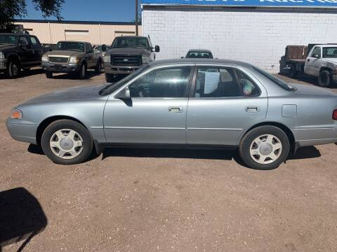 1995 Toyota Camry for sale at PYRAMID MOTORS - Fountain Lot in Fountain CO