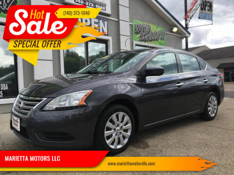 2013 Nissan Sentra for sale at MARIETTA MOTORS LLC in Marietta OH