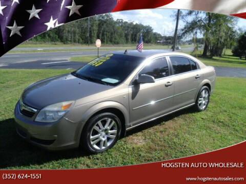 2008 Saturn Aura for sale at HOGSTEN AUTO WHOLESALE in Ocala FL