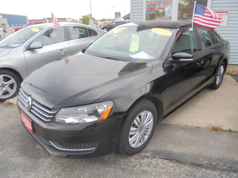 2014 Volkswagen Passat for sale at Century Auto Sales LLC in Appleton WI