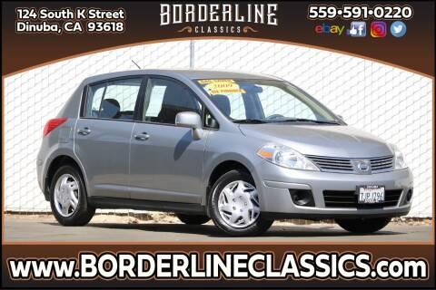 2009 Nissan Versa for sale at Borderline Classics in Dinuba CA