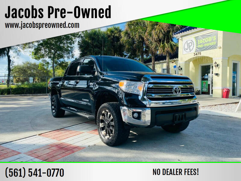 2016 Toyota Tundra for sale at Jacobs Pre-Owned in Lake Worth FL