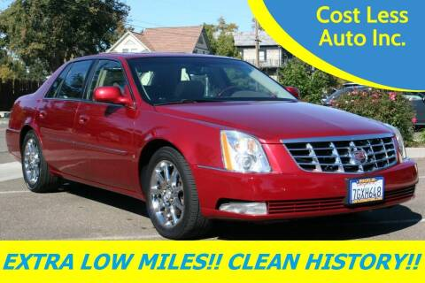 2006 Cadillac DTS for sale at Cost Less Auto Inc. in Rocklin CA