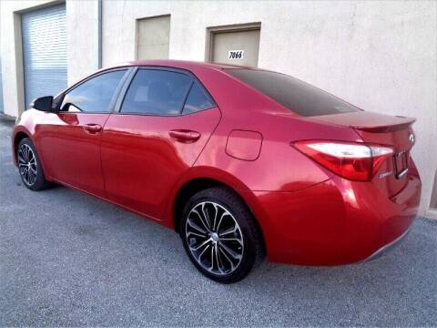 2014 Toyota Corolla for sale at Selective Motor Cars in Miami FL